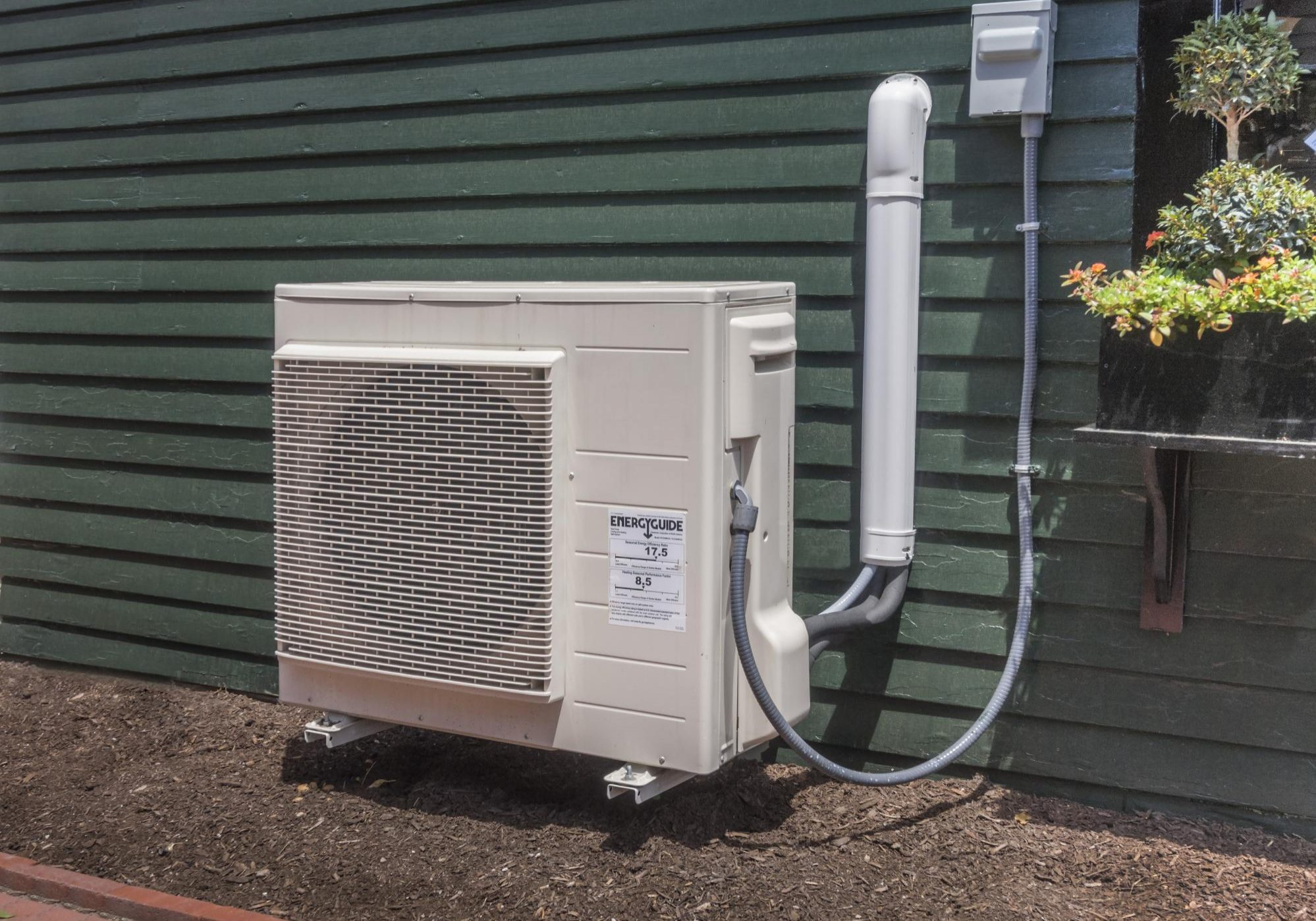 This is a picture of an ac unit.